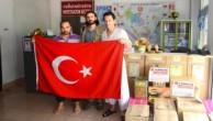 CANSUYU DERNEĞİ TAYLAND'DAKİ UYGUR KARDEŞLERİNİ UNUTMADI .. !