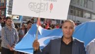 NEVŞEHİR'DE DOĞU TÜRKİSTAN İÇİN PROTESTO YÜRÜYÜŞÜ
