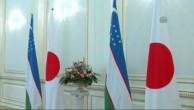 JAPONYA BAŞBAKANI ABE ÖZBEKİSTAN'DA