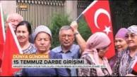KIRGİZİSTAN UYGURLARI BİŞKEK'TE  TÜRKİYE'DEKİ DARBE KALKIŞMASINI PROTESTO ETTİLER