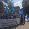 ÇİN'İN DOĞU TÜRKİSTAN'DAKİ İŞGAL,BASKI VE ZULMÜ ALMANYA'DA PROTESTO EDİLDİ