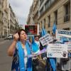 UYGUR TÜRKLERİ PARİS'TE ÇİN'İN 05.07. 2009 URUMÇİ KATLİAMINI PROTESTO ETTİ