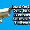 """KOMÜNİST  ÇİN  """" DOĞU TÜRKİSTAN'İ  TOPYEKÜN  """" GÖZ ALTINDA"""" TUTUYOR"""