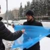 KIRGİZ TÜRKÜ RAHMAN  MOSKOVA'DA UYGUR EYLEMİ YAPTI, KIRGİZİSTAN'DA SORGULANDI