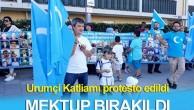 İŞGALCİ ÇİN'İN  URUMÇİ KATLİAMI 10.YILINDA ALMANYA'DA PROTESTO EDİLDİ