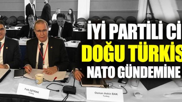 İYİ PARTİ ERZURUM  MİLLETVEKİLİ M.NACİ CİNİSLİ,ÇİN'İN DOĞU TÜRKİSTAN'DAKİ ZULMÜNÜ NATO'NUN GÜNDEMİNE TAŞIDI