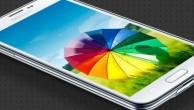 Galaxy S5'in ekranı…