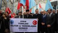 KIRIM TÜRKLERİ PUTİN'I PROTESTO ETTİ..!
