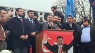ALPEREN OCAKLARI  İŞGALCI ÇİN'İN GULCA KATLİAMINI  MİTİNG YAPARAK  PROTESTO ETTİ