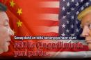 ABD. ASKERİ GÜCÜ VE   ÇİNVİRÜSÜ  İLE  DÜNYA'YI TEHDİT EDEN KOMÜNİST ÇİN'İ  KUŞATIYOR !