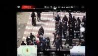 İŞGALCİ VE SOYKIRIMCI ÇİN,ALMANYA'NIN BAŞKENTİ BERLİN'DE PROTESTO EDİLDİ